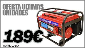 Generador trifásico 3000W