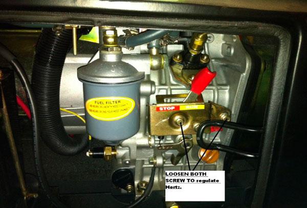 Cómo regular tu generador
