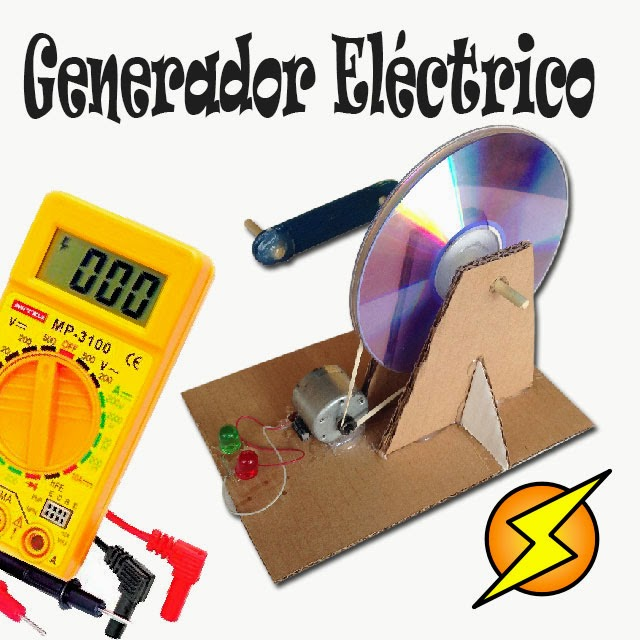Crea tu propia electricidad con un generador el ctrico casero - Generadores de electricidad ...
