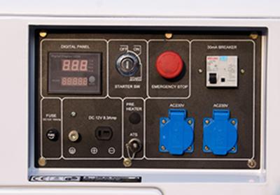 Ventajas de los generadores con arranque el ctrico for Generador arranque automatico