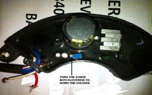 Cómo regular el voltaje de un generador. El AVR